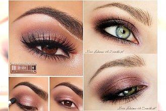 Kolorowy makijaż smoky eyes - lekka mgiełka wokół oka w wiosennym wydaniu
