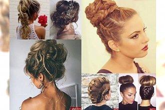 Galeria wieczornych fryzur najlepszej jakości! Odkryj najnowsze fryzjerskie trendy!