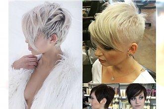 Krótkie fryzury z długą grzywką - Wasze ulubione połączenie w najmodniejszych wariantach