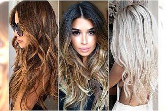 Najmodniejsza koloryzacja włosów na lato 2016: sombre, karmel, miodowe blondy. Najlepsze inspiracje!