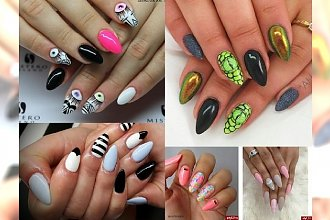 24 dziewczęce inspiracje manicure - GALERIA NOWINEK 2016!