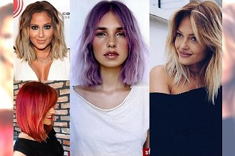 Kochamy półdługie cięcia włosów! Przegląd najbardziej charyzmatycznych fryzur!