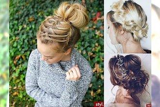 Bardzo dziewczęce i stylowe fryzurki na imprezy i inne ważne spotkania!