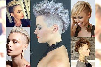Krótkie fryzurki w najlepszych odsłonach! Mega kobiece inspiracje