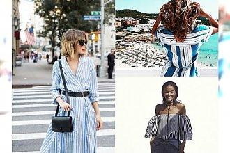 HOT: Niebieskie paski ponownie królują w modzie - 19 najgorętszych inspiracji na lato 2016