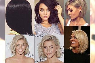 33 inspiracje na fryzurę a'la bob dla brunetek i blondynek