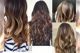 Delikatne refleksy babylights dla brunetek - ożyw swoją fryzurę!