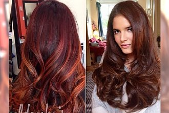 Maroon hair - sposób na wakacyjną metamorfozę w stylu gwiazd