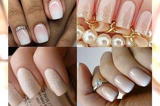 Delikatne i stylowe propozycje na ślubny manicure
