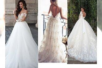 Najpiękniejsze, pełne klasy suknie ślubne - modowe inspiracje
