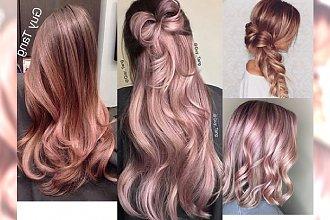 Rose champagne - subtelny kolor, który podbija Instagram!