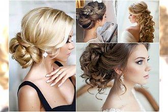 Fryzury ślubne 2016 - katalog fryzur dla długich włosów