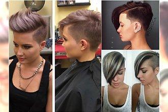 Krótkie fryzury undercut - wygolone, ale wciąż pełne kobiecego uroku. Spróbujcie!