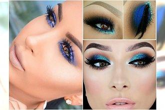 Makijaż oczu z niebieskim akcentem - hot trend na lato