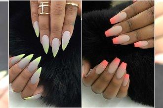 Soft ombre manicure - wypróbujcie nową wersję paznokci ombre