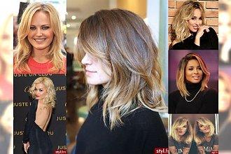 Półdługie fryzury dla miłośniczek tej długości - TOP 23!