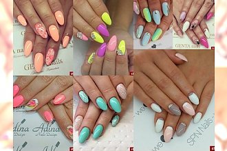 Barwne trendy manicure 2016 - przegląd największych trendów!