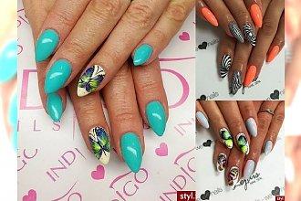 Niesamowicie dziewczęcy manicure, w którym się zakochasz! Takie cuda można nosić na swoich paznokciach w tym sezonie