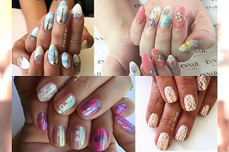 Żelowe manicure, które musisz pokazać swojej kosmetyczce! Te 21 wzorów zachwycają