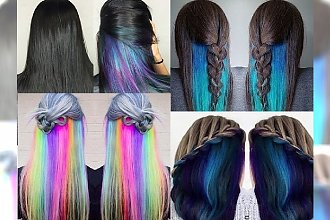 HIT LATA: Underlights! Idealna na lato, szalona koloryzacja włosów