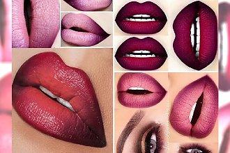 Ombre lips  - efekt pełnych ust, o którym marzy każda z nas