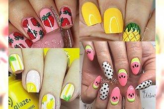 Uroczy owocowy manicure, który wywoła uśmiech na Twojej twarzy