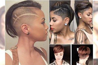 Nowoczesne fryzury undercut - asymetryczne, pixie, z irokezem