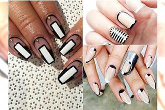 Hot trend w manicure: paznokcie z ramką. Te wzorki są hitem!
