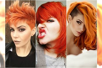 Zrób się na rudo! 26 pomysłów na zadziorną fryzurę