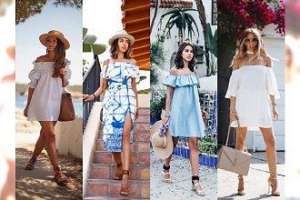Odkryte ramiona są HOT! 20 Sukienek z odkrytymi ramionami, które będą niezbędne na wakacje 2016