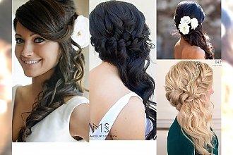 Piękne upięcia ślubne na bok - fryzura, która pasuje każdej z nas!