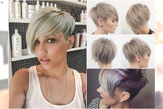 Nie ma to jak grzywka na bok! 20 najlepszych krótkich fryzur z Instagrama