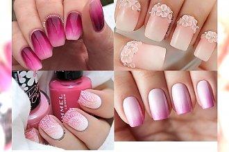 Pink ombre - wyrazisty ombre manicure z różem w roli głównej