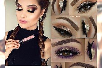 Gold make up - makijaż godny czerwonego dywanu
