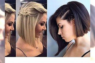 10 uroczych, niezwykle prostych do wykonania fryzur dla włosów do ramion