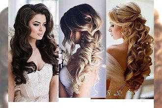 Przepiękne fryzury ślubne dla bardzo długich włosów