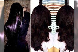 Bakłażan - ten kolor włosów jest hitem! Zobaczcie najpiękniejsze przykłady prosto z salonu