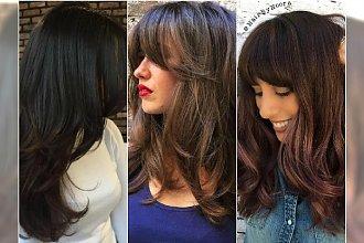 Długie włosy są smętne, nudne i oklapnięte? Te cieniowane fryzury dodadzą im życia!