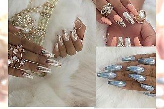 Niezwykle elegancki chrome manicure - trend, który kochają IT GIRLS