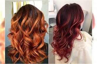 Rudy balejaż - niezawodny patent na żywy, piękny kolor włosów