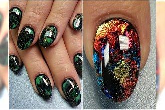 TREND: Kosmiczny manicure - cudowny efekt, jakiego jeszcze nie widziałyście!