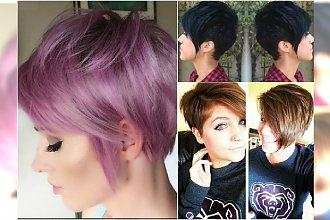 Krótkie fryzury z grzywką 2017 - modne propozycje z Instagrama