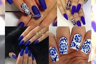 Kobaltowy manicure - wyrazisty, niezwykle stylowy kolor, który doda Ci charakteru