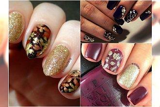 Elegancki manicure z jesiennymi motywami. Te wzory są przecudne!