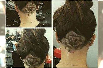 Wzory na włosach 3D - widzieliście to cudo? Trójwymiarowe wzorki są coraz modniejsze
