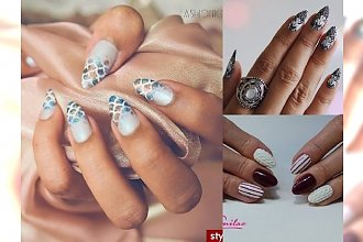 Te inspiracje manicure HIPNOTYZUJĄ! TOP 19-stka!