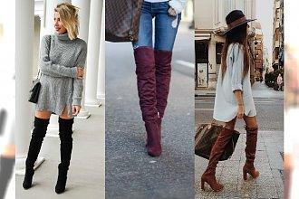Kozaki za kolano są szalenie modne, ale jak je nosić? 22 modnych inspiracji