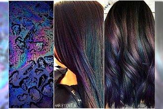 Efekt galaxy na włosach - próbowałyście już? Oto najpiękniejsze kolory włosów