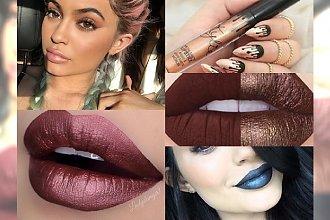 HOT TREND: Metaliczne pomadki Kylie Jenner podbijają świat makijażu. Niesamowity efekt na ustach!