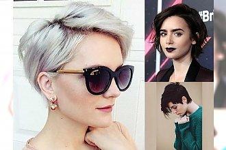 Krótkie i półkrótkie fryzurki 2017 - kobiece, charyzmatyczne odsłony, które pokochasz!
